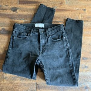 EVERLANE black skinny jeans✨sz 26